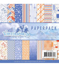 Find It Trading Jeanine\u0027s Art Wintersports 23 pk 6\u0027\u0027x6\u0027\u0027 Paper Pack