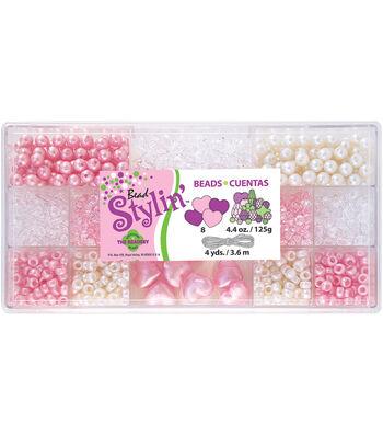 Bead Stylin' Bead Box Kit 4.4 Ounces/Pkg-Bubblegum