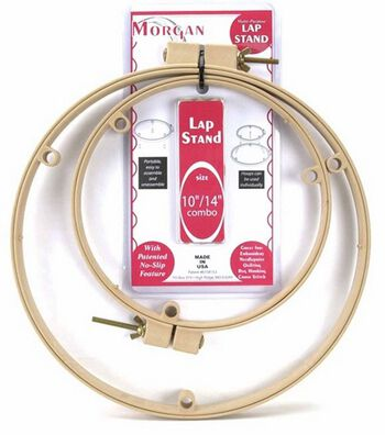 """Lap Stand Combo 10"""" And 14"""" Hoops"""