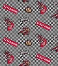 Ohio State University Buckeyes Cotton Fabric 44\u0022-Tossed