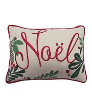 Maker's Holiday Christmas Lumbar Pillow-Noel, , hi-res