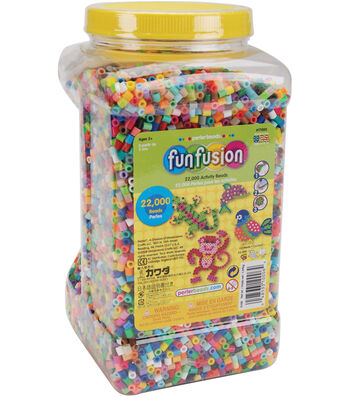 Perler Fun Fusion Beads 22,000/Pkg-Multi Mix