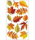 EK Success Sparkler Classic Stickers-Fall Leaves