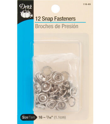 Dritz® 12 Snap Fasteners
