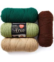 Red Heart With Love Yarn, , hi-res