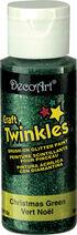 DecoArt Craft Twinkles Green 2oz