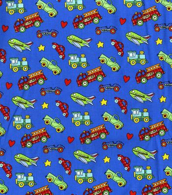 "Nursery Cotton Fabric 44""-Lil Ones"