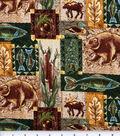 Novelty Cotton Fabric 44\u0022-The Great Northwest