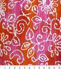 Speciality Cotton Gauze Fabric 41\u0027\u0027-Batik on Tie Dye