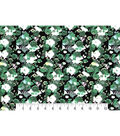 Two Daughters Modern Florals Cotton Fabric 43\u0022-Green Washed Flowers