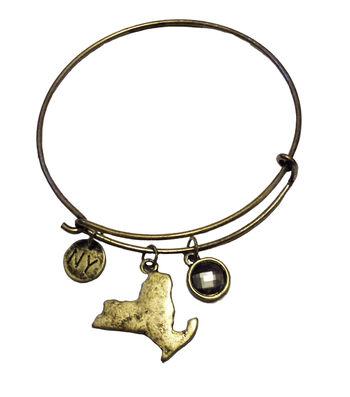Finished Bracelet NY - Brass Ox