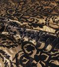 Metallic Tapestry Jacquard Black