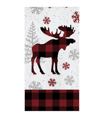 Maker's Holiday Christmas 16 pk Napkins-Holiday Moose