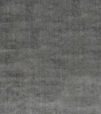 "Jaclyn Smith Upholstery Fabric 54""-Theater Velvet/Graphite"