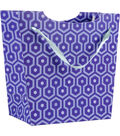 K&Company Blue Honeycomb Gift Bag