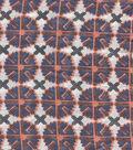 Ethnic Cotton Fabric-Circle Geo Multi