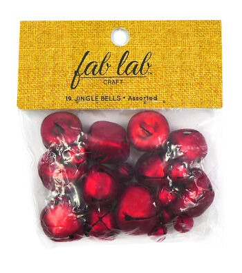 Jingle Bells - Red - Assorted Sizes