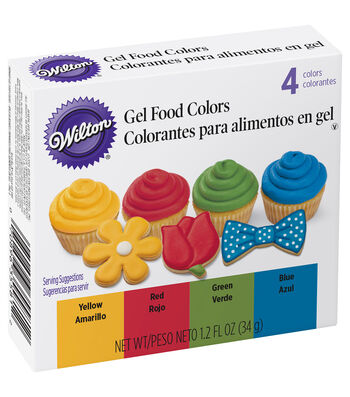 Wilton Decorating 4 Pack Icing Set-Primary