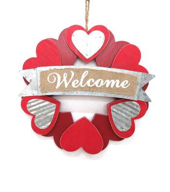 Valentine's Day Wreath-Welcome