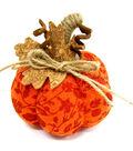 Pumpkin Boutique Extra Small Pumpkin Fabric-Orange