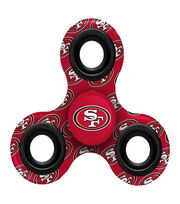San Francisco 49Ers Diztracto Spinnerz-Three Way Fidget Spinner, , hi-res