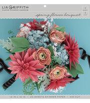 Lia Griffith Paper Flower Garden-Spring Flower Bouquet, , hi-res