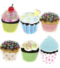 Jolee\u0027s Boutique Dimensional Embellishments-Vellum Cupcakes