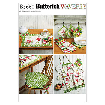 Butterick Crafts Home Accessory-B5660
