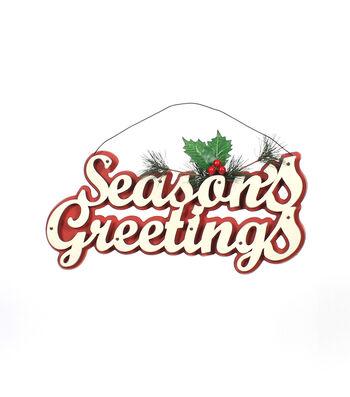 Maker's Holiday Christmas Seasons Greetings Wall Decor