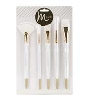Heidi Swapp Minc Brush Set 5/Pkg, , hi-res