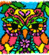 Colorful Latch Hook Kit 16\u0022X16\u0022-Owl