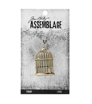 Tim Holtz® Assemblage Birdcage Pendant, , hi-res