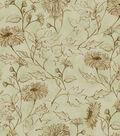 Susan Winget Cotton Fabric 44\u0027\u0027-Stencil Mums