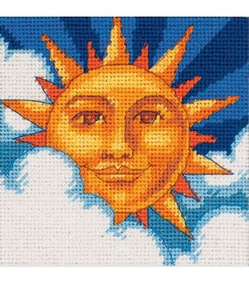 Dimensions Celestial Sun Mini Needlepoint Kit