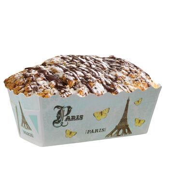 12pk Paris Mini Loaf Baking Pans-Blue