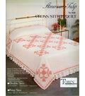 Stamped Cross Stitch Quilt 90\u0022X103\u0022-Colorful Tulip