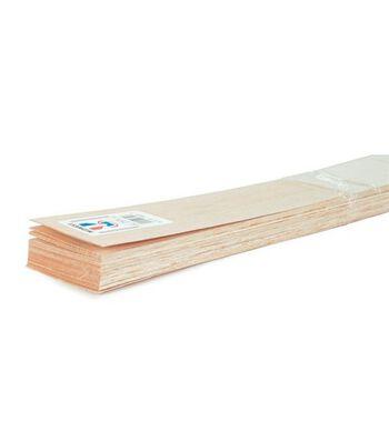 """Balsa Wood 36"""" Sheet-20PK/1/16""""x4"""""""