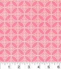 Snuggle Flannel Fabric 42\u0022-Sugar Coral Floral Geo