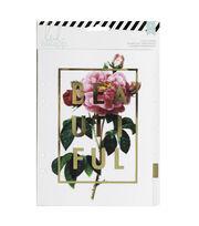 Heidi Swapp Memory Planner Large Dividers 6/Pkg-Clear W/Foil Printed Design, , hi-res