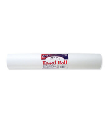 """Pacon Easel Roll, Standard Bright White, 18""""X100ft"""