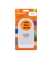 Fiskars® Large Thick Materials Shape Punch-Label, , hi-res