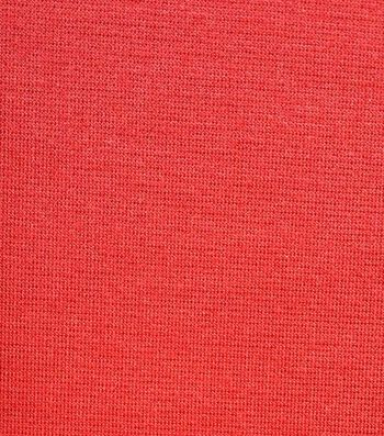"""Bottomweight Jegging Knit Fabric 58""""-Red"""
