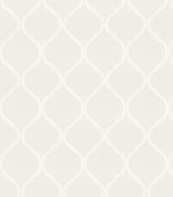 Eaton Square Sheer Fabric-Daze/White