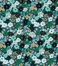 Buttercream Stella Cotton Fabric-Ditsy Floral Packed