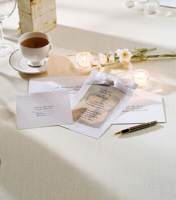 Wilton® 25ct Print-Your-Own Invitations Kit-The Two Of Us