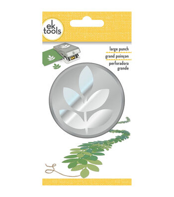 EK Tools® Large Punch-5 Leaf Branch