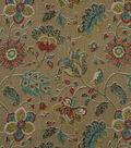 Home Decor 8\u0022x8\u0022 Fabric Swatch-Robert Allen Spring Mix Pomegranate