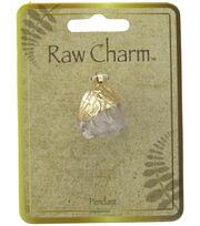 Naturals Raw Charm Rock Pendant, , hi-res