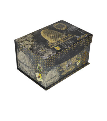 Organizing Essentials™ Small 2 Flip Top Box-Bee Charmer