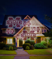 Mississippi State University Bulldogs Light Projector, , hi-res